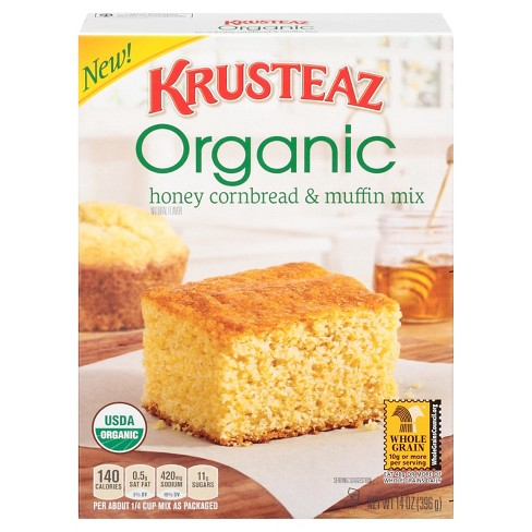 Krusteaz Organic Honey Cornbread And Muffin Mix - 14oz - image 1 of 2