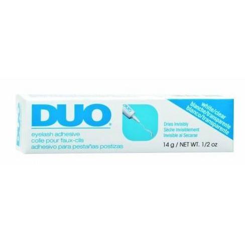 Duo Adhesive Eyelashes Clear - 0.5oz - image 1 of 3