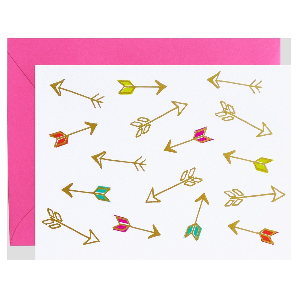 Image of 8ct Shooting Arrows Notecards