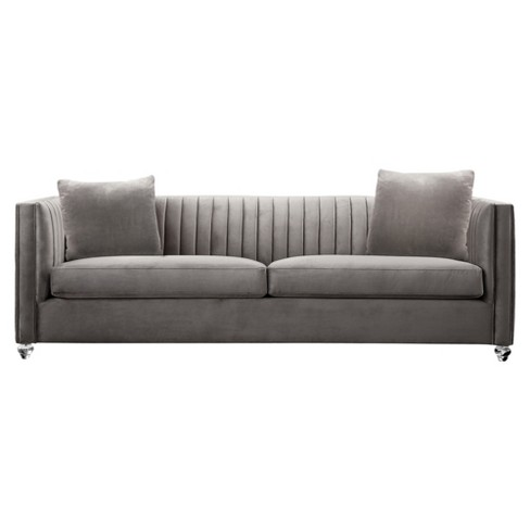 Armen Living Emperor Contemporary Sofa Beige - image 1 of 2
