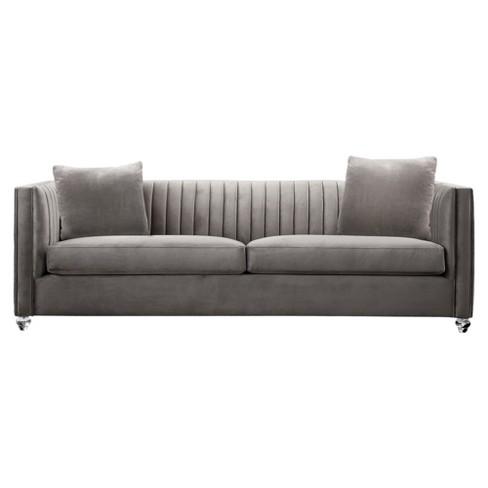 Armen Living Emperor Contemporary Sofa Beige - image 1 of 2
