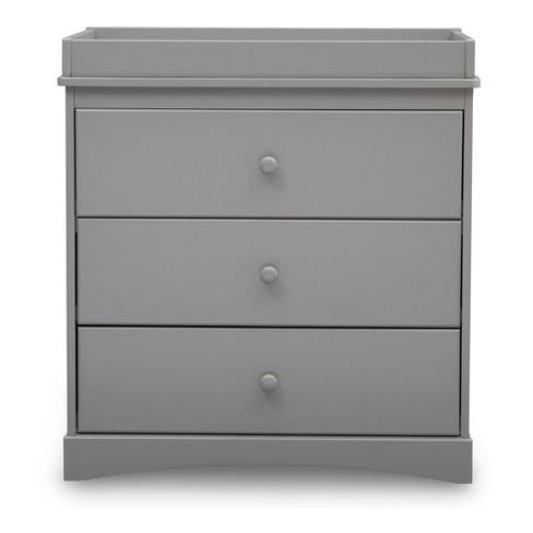Delta Children Skylar 3 Drawer Dresser With Changing Top