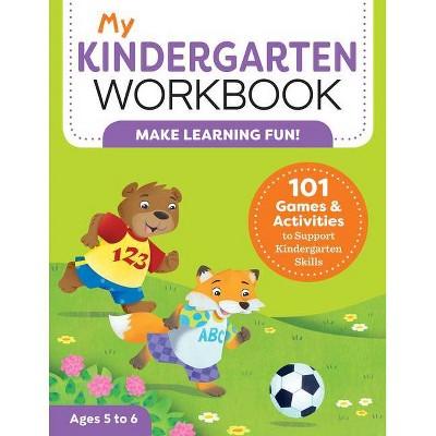 My Kindergarten Workbook - (My Workbooks) by Brittany Lynch (Paperback)