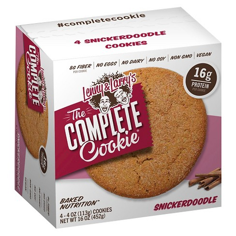 Lenny & Larry's Complete Cookie - Snickerdoodle - 4ct - image 1 of 1