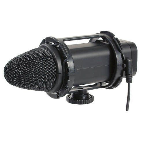 Smith-Victor Stereo Condenser Microphone with Low Signal to Noise Ratio - Black (SV-SM1) - image 1 of 1