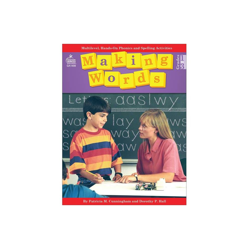 Making Words By Patricia M Cunningham Dorothy P Hall Tom Heggie Paperback