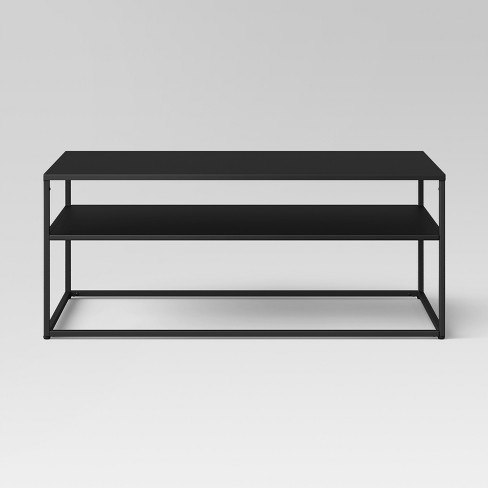 Glasgow Metal Coffee Table Black Project 62