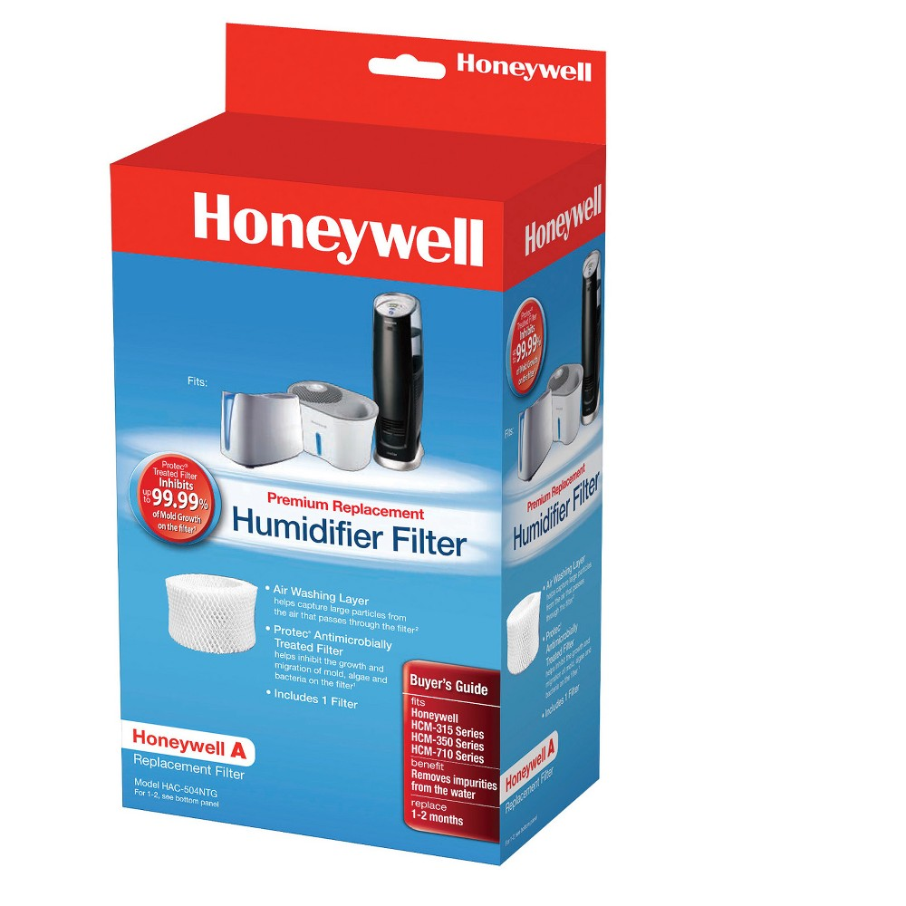 Honeywell Replacement Wicking Filter, Brown Honeywell evaporative humidifiers are designed around the replacement filter to optimize performance and output. Use this filter with Honeywell cool moisture evaporative humidifiers. Color: Brown.