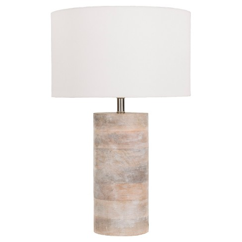 Rosek Table Lamp Brown (Lamp Only) - Surya - image 1 of 2