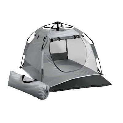 Kidco Lightweight Portable Tent-Peapod Camp Playard - Midnight