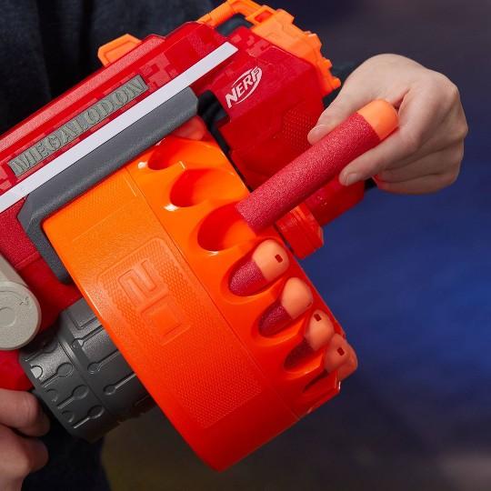 NERF N-Strike Mega Megalodon Blaster with 20 Official Nerf Mega Whistler Darts image number null