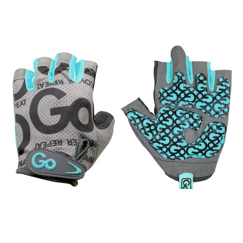 GoFit Women's ProTrainer Gloves L - Teal - image 1 of 4