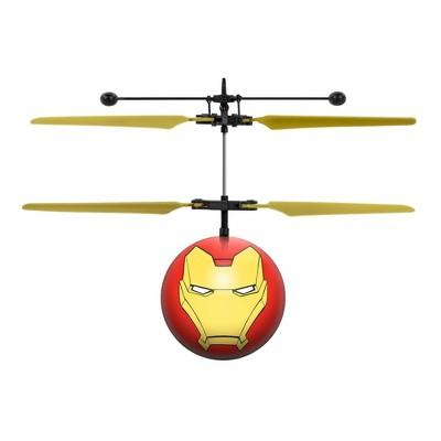 World Tech Toys Marvel Avengers Iron Man IR UFO Ball Helicopter