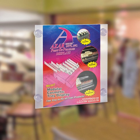 "Azar® 8.5"" x 11"" Sign Frame with suction cups 2ct - image 1 of 1"