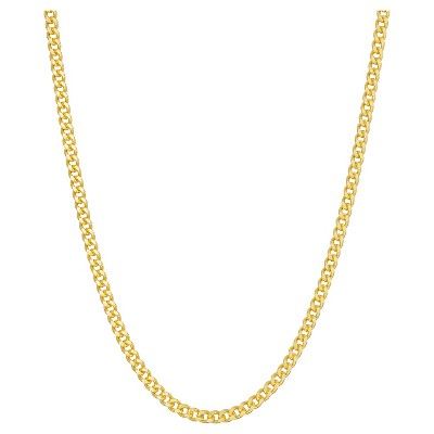 Tiara Sterling Silver Curb Chain Necklace