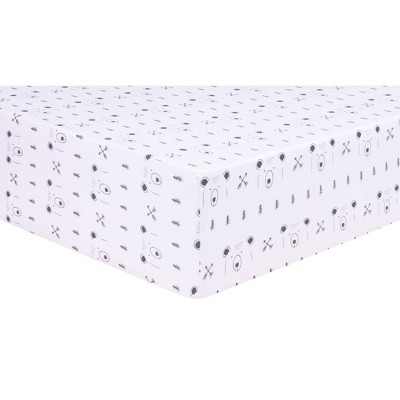 Trend Lab Fitted Crib Sheet - Peak a Bear