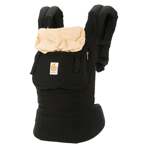 Ergobaby Original Ergonomic Multi-Position Baby Carrier - Black/Tan - image 1 of 5
