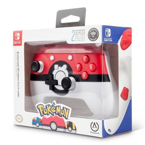 PowerA Pokemon Poke Ball Wireless Enhanced Controller for Nintendo Switch - image 1 of 4