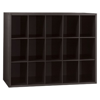 15 Unit Shoe Organizer - Espresso - Room Essentials™