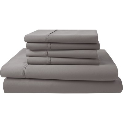 Park Ridge 1000 Thread Count Sheet Set (Queen)Ash - Elite Home Products