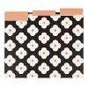 U-Brands 12ct Patterned File Folders - Abstract Terracotta - image 2 of 4