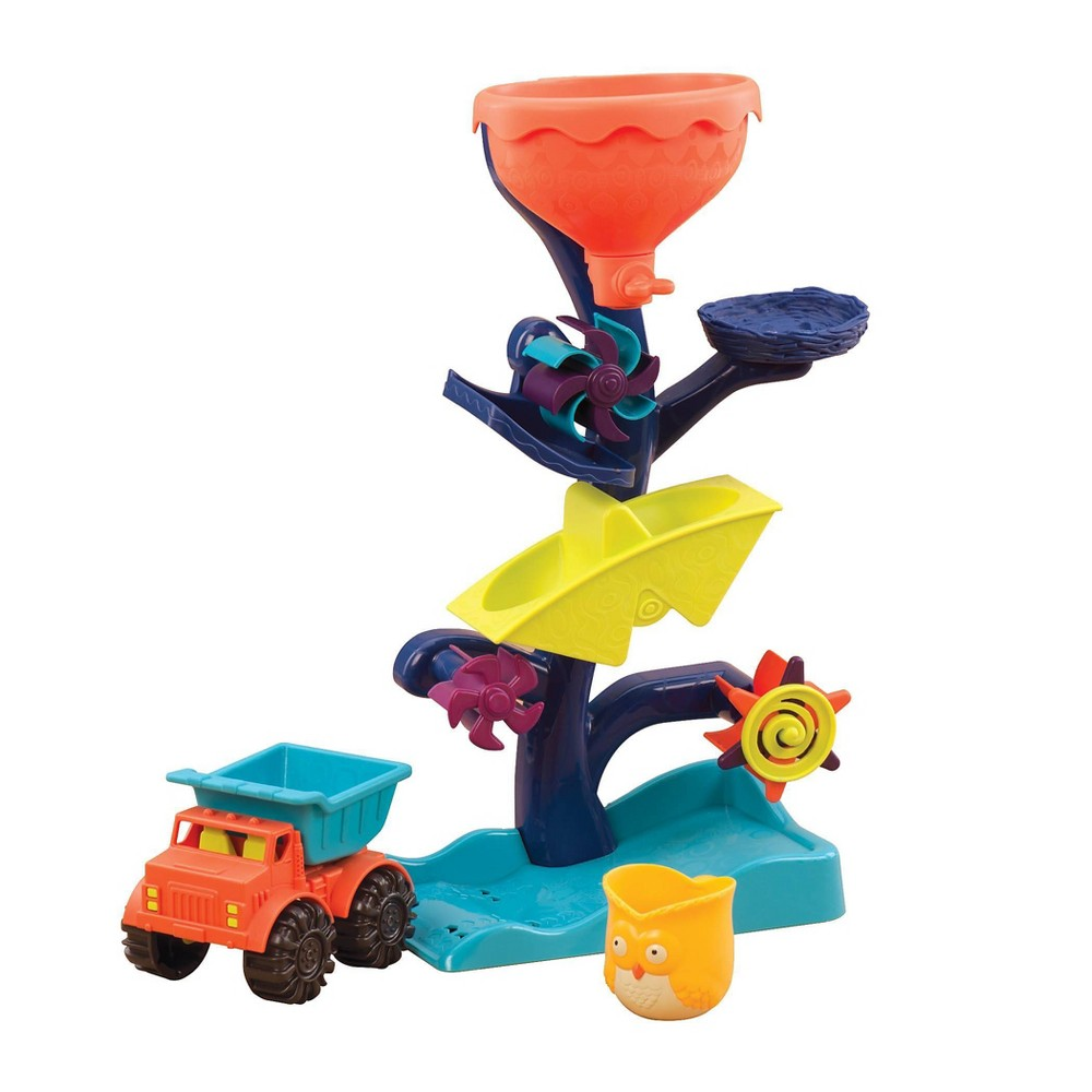 B Toys Water Wheel Toy Owl About Waterfalls
