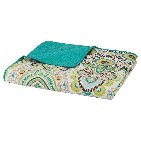 "Green Ellie Oversized Quilted Throw (60""X70"") - image 1 of 2"