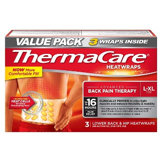 ThermaCare® Lower Back & Hip Heat Wraps