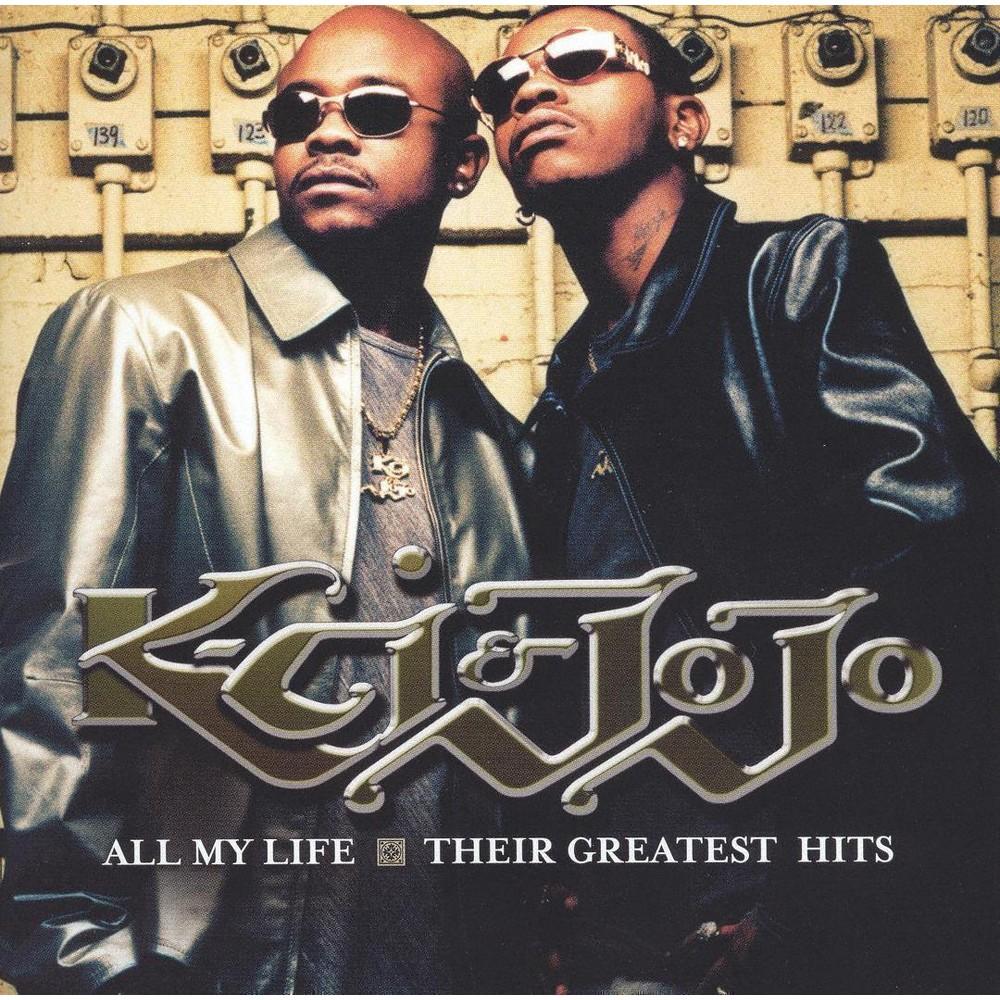 K Ci Jojo All My Life Their Greatest Hits Cd