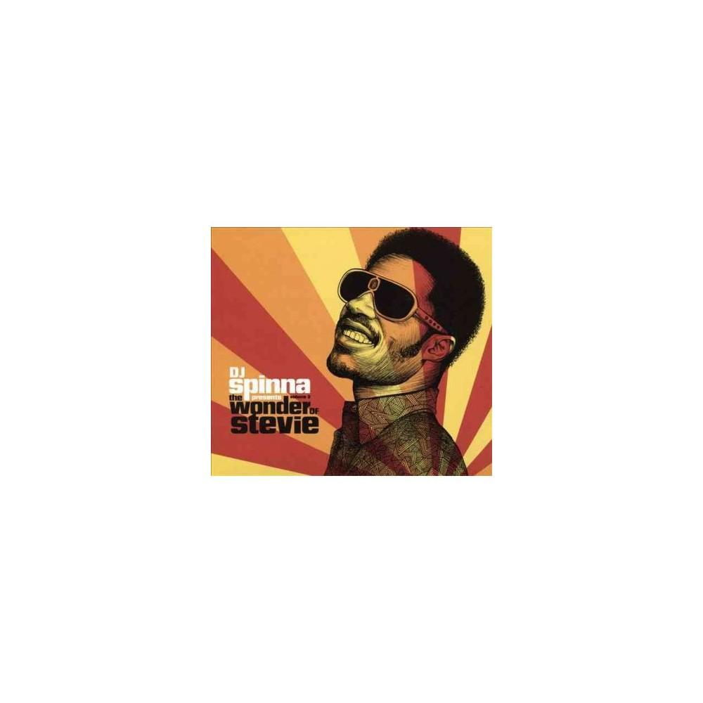 Various - Dj Spinna/Wonder Of Stevie V3 (CD)
