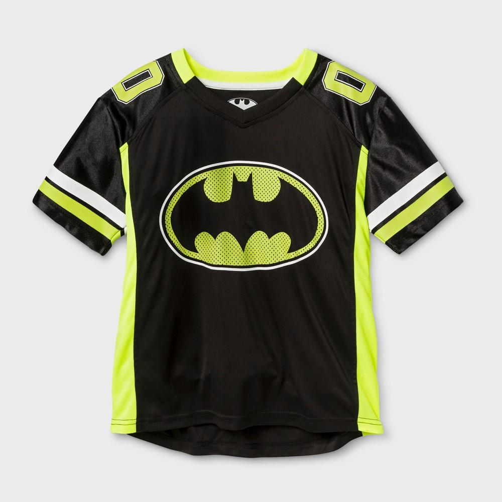 Boys' Batman Activewear Jersey - Black/Yellow M