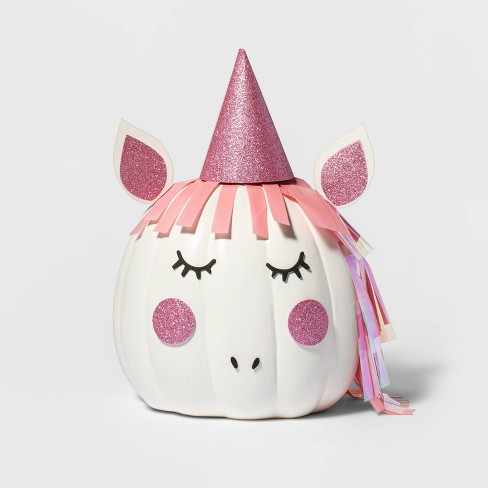 Unicorn Halloween Pumpkin Decorating Kit - Hyde & EEK! Boutique™ - image 1 of 3
