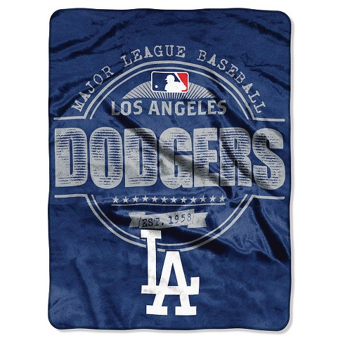 "MLB Los Angeles Dodgers Throw Blanket - 46""x60"" - image 1 of 1"