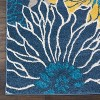 Nourison Passion PSN17 Blue Indoor Area Rug - image 2 of 4