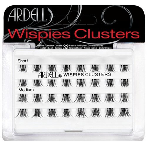 Ardell Eyelash Wispies Clusters Combo Pack Short-Medium - 32ct