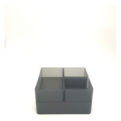 Plastic Drawer Organizer Dark Gray - Made By Design™
