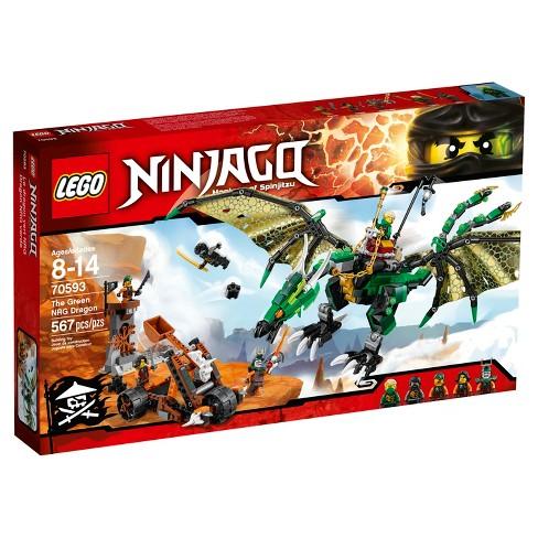 Lego Ninjago The Green Nrg Dragon 70593 Target