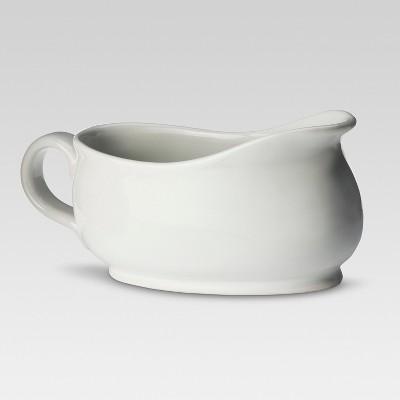Porcelain Gravy Boat 20oz White - Threshold™