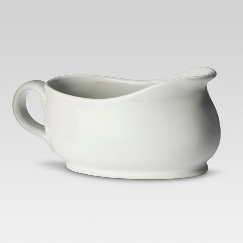Porcelain Gravy Boat 20oz White - Threshold™ - image 1 of 1