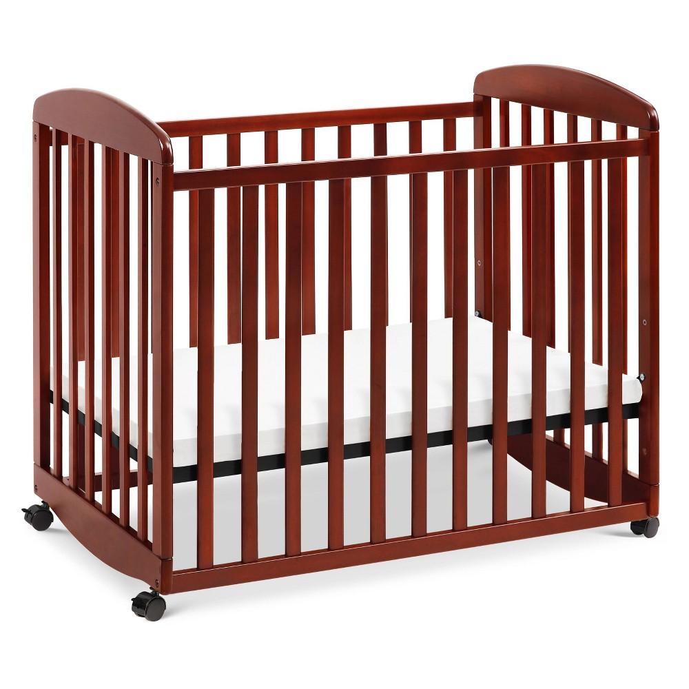 Davinci Alpha Mini Rocking Crib Cherry