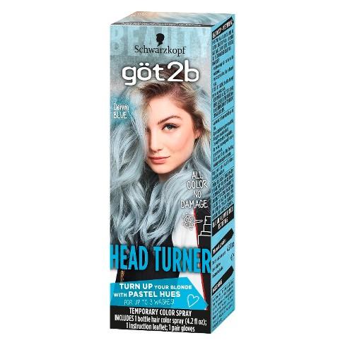 Got2B Color Headturner Temporary Hair Color Spray Peach - 4.2 fl oz