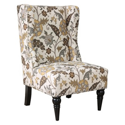 Galvez Contemporary Wingback Accent Chair - HOMES: Inside + Out