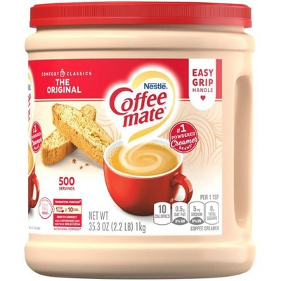 Creamers: Coffee-Mate