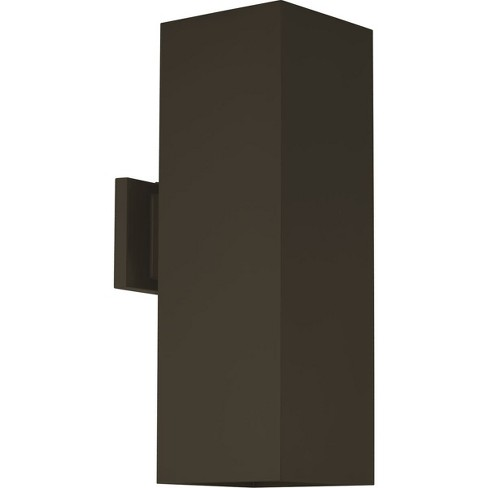 """Progress Lighting P5644-LED LED Square 6"""" Wide 2 Light Integrated LED Outdoor Wall Sconce - image 1 of 1"""