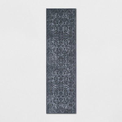 2'X7' Splatter Runner Blue - Threshold™