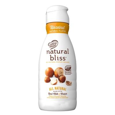 Coffee Mate Natural Bliss Hazelnut Coffee Creamer - 32 fl oz