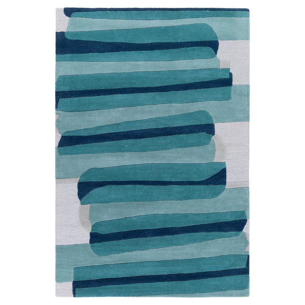 Priscila Kid's Rug 9'x13' Emerald - Surya, Blue