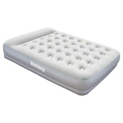 Bestway Comfort Quest Restaira Premium Inflatable Air Mattress - Double High Queen (White) - image 1 of 3