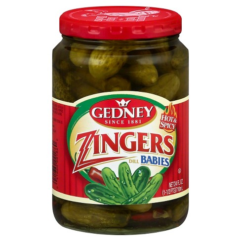 Gedney Hot & Spicy Zingers Dill Babies - 24oz - image 1 of 1