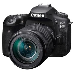 Canon EOS 90D DSLR Camera with EF-S 18-135mm f/3.5-5.6 IS USM Lens